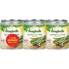 BonduelLe Le haricot vert extra-fin 6x440g