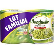 BONDUELLE Bonduelle Flageolets extra fins fondants et savoureux 2x530g 2x530g
