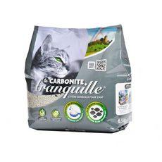 Tranquille Litière minérale carbonite agglomérante pour chat 6,5kg