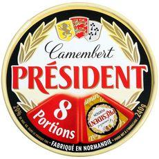 PRESIDENT Camembert en portions 8 portions 240g