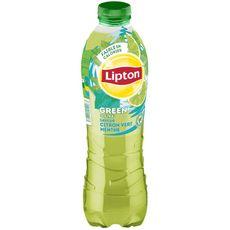 Lipton Boisson à base de thé vert saveur citron vert menthe 1l