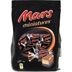 MARS Miniatures barres chocolatées au caramel  130g