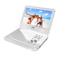 Logicom Lecteur Dvd Portable Avec écran Rotatif Pvs 1006 20 Blanc