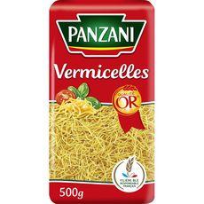 PANZANI Vermicelles filière blé responsable français 500g