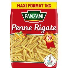PANZANI Penne rigate filière blé responsable français 1kg