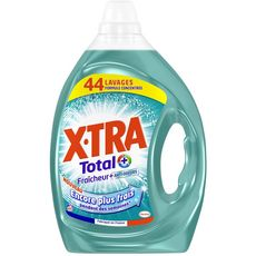 X.tra Total+ lessive concentrée fraîcheur anti-odeurs 44 lavages 2,2l