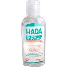 HADA Gel antibactérien pour les mains 75ml