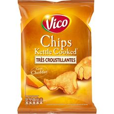VICO Kettle Cooked Chips au cheddar 120g