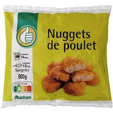 AUCHAN ESSENTIEL Nuggets de poulet 500g