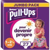 Huggies Pull-Ups fille jumbo 8/17kg taille 4 -x27