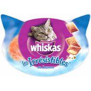 WHISKAS Whiskas Les irrésistibles friandises au saumon pour chat 90g