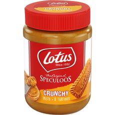 LOTUS Crunchy pâte à tartiner au spéculoos 380g