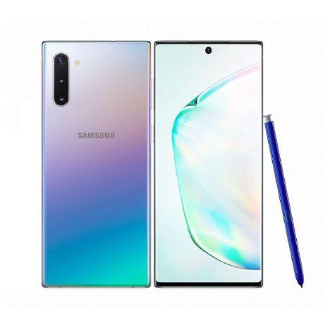 SAMSUNG Smartphone Galaxy Note 10 256 Go 6.3 pouces Argent 4G double SIM