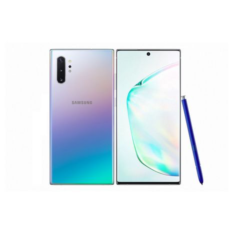 SAMSUNG Smartphone Galaxy Note 10+ 256 Go 6.8 pouces Argent 4G double SIM