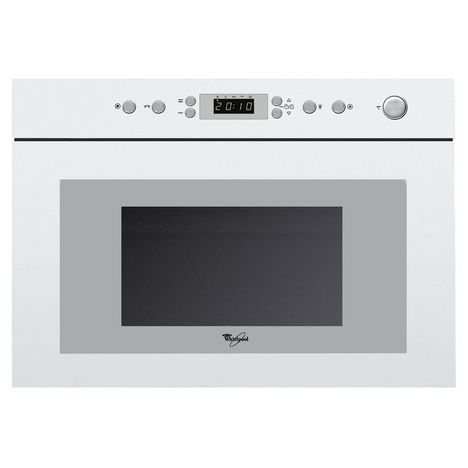 WHIRLPOOL Micro-ondes Encastrable AMW498WH Gril