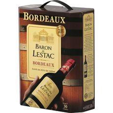 Baron de Lestac AOP Bordeaux rouge 3L