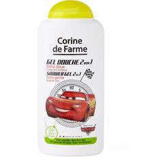 Corinne de Farme Gel douche enfant corps et cheveux Cars 250ml