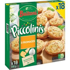 Buitoni piccollini 3fromages x18 -540g