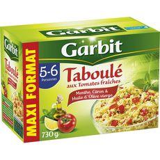 Garbit Taboulé aux tomates fraîches menthe citron maxi format 730g