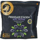 Gourmet Auchan  pruneaux d'Agen avec noyaux 500g