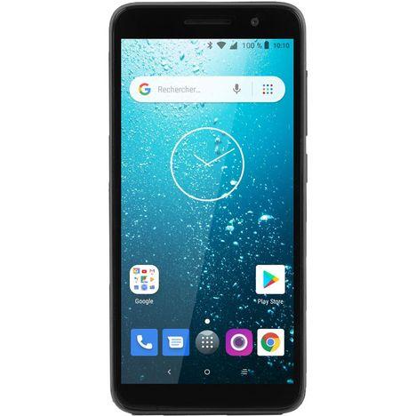 QILIVE Smartphone - Q1-19 143068 - 16 Go - 5 pouces - Noir - 4G - Double NanoSIM