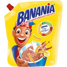 BANANIA Chocolat en poudre en poche 1kg