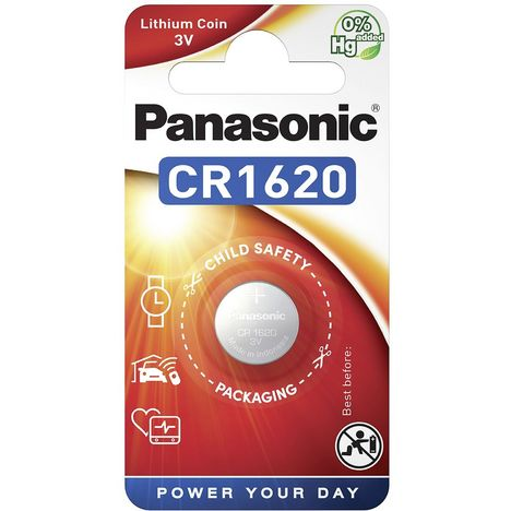 PANASONIC 1 Pile CR1620 Lithium
