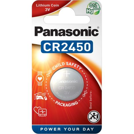 PANASONIC 1 Pile CR2450 Lithium