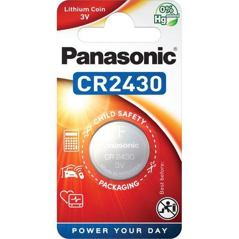 PANASONIC 1 Pile CR2430 Lithium