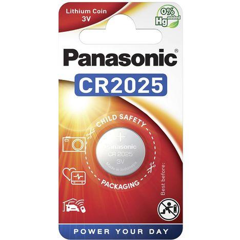 PANASONIC 1 Pile CR2025 Lithium