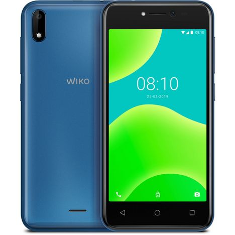 WIKO Smartphone Y50 8 Go 5 pouces Bleu 3G Double SIM