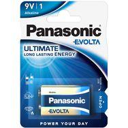 PANASONIC 1 Pile Alcaline 6LR61 Evolta