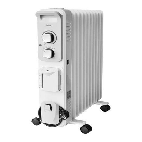 QILIVE Chauffage électrique - 141847 - Blanc