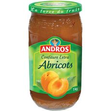 Andros confiture extra abricot 1kg