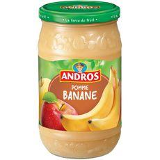 ANDROS Dessert pomme banane, en bocal 750g