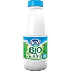 Lactel lait 1/2 écrémé bio U.H.T. bouteille 1l