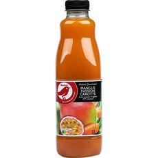 AUCHAN Instant gourmand nectar mangue passion carotte 1l