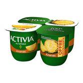 Danone Activia ananas 4x125g offre découverte