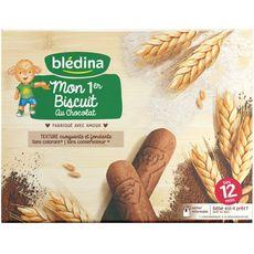 BLEDINA Blédina Mon 1er biscuit au chocolat dès 12 mois 180g 180g