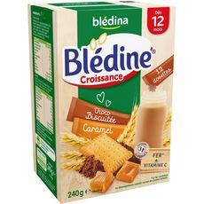 BLEDINA Blédine dosette caramel choco en poudre dès 12 mois