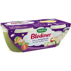 Blédina BLEDINA Blédîner bol risotto de courgettes lait dès 8 mois