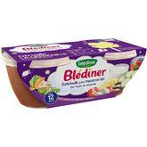 Blédina Blédina Blédîner bol ratatouille petits macaroni lait dès 12 mois 2x200g
