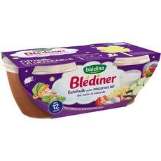 Blédina BLEDINA Blédîner bol ratatouille petits macaroni lait dès 12 mois