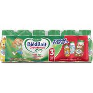 Blédina Blédilait 3 lait de croissance liquide de 10 mois à 3 ans 18x25cl
