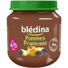 Blédina pot pommes pruneaux 130g dès 4/6 mois
