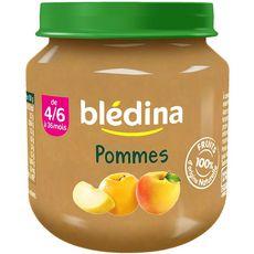 BLEDINA Blédina pomme 130g dès 4/6 mois