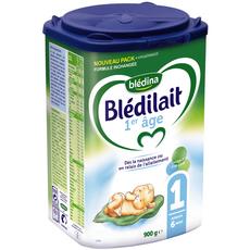 Blédina Blédilait 1 lait 1er âge en poudre dès la naissance à 6 mois 900g
