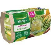 Blédina pot haricots verts 2x130g dès 4 mois
