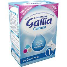 Gallia Calisma lait 1er âge 700g de 0 à 6 mois