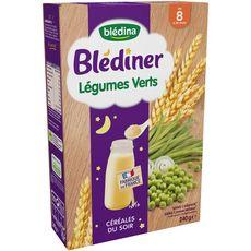 BLEDINA Blédiner céréales aux légumes verts en poudre dès 8 mois 240g